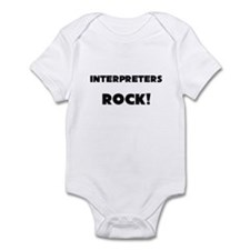 Interpreters ROCK Infant Bodysuit