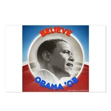 """Believe in Barack"" Postcards (Package of 8)"