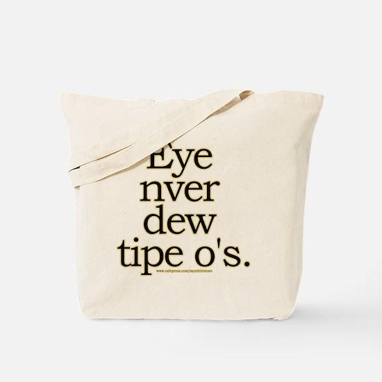 Funny Typo Joke Tote Bag