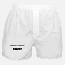 International Aid Workers ROCK Boxer Shorts