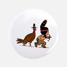 "Vote Yes For Thanksgiving 3.5"" Button (100 pa"