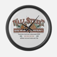 Wall Street Brewing Company Large Wall Clock