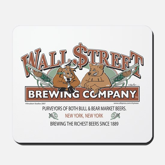 Wall Street Brewing Company Mousepad