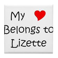 Unique Lizette Tile Coaster