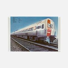 Amtrak Budd Metroliners Rectangle Magnet