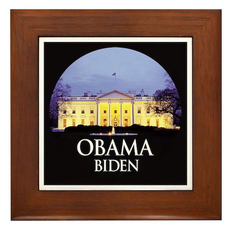 Obama White House 032 Framed Tile