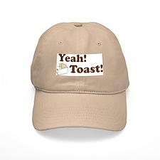Yeah! Toast! Baseball Baseball Cap