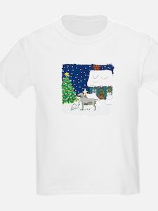Christmas Lights Weimaraner T-Shirt