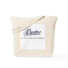 Theatre Unemployed Script Tote Bag