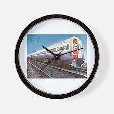 Amtrak Budd Metroliners Wall Clock