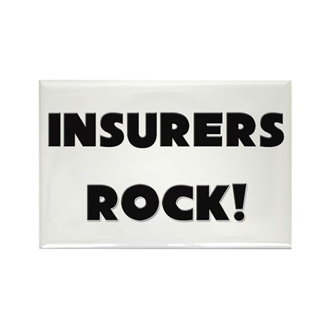 Insurers ROCK Rectangle Magnet (10 pack)