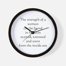 The Strength Wall Clock