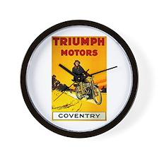Triumph 1923 Wall Clock