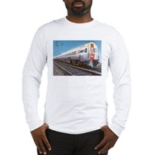 Amtrak Budd Metroliners Long Sleeve T-Shirt