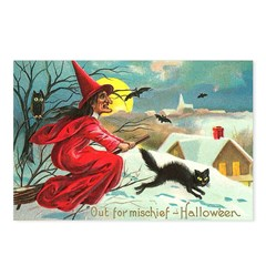 Mischief Witch Postcards (Package of 8)