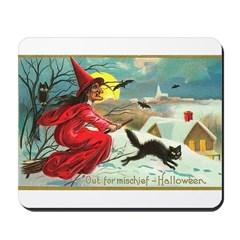 Mischief Witch Mousepad