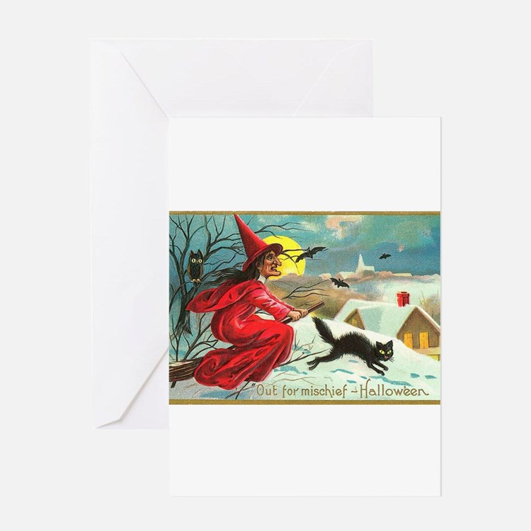 Mischief Witch Greeting Card