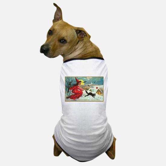 Mischief Witch Dog T-Shirt