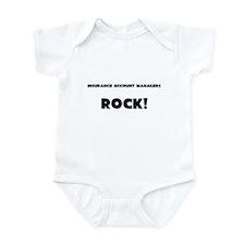 Insurance Account Managers ROCK Infant Bodysuit