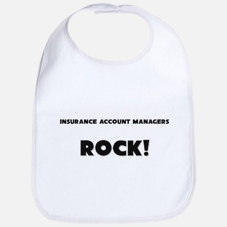 Insurance Account Managers ROCK Bib