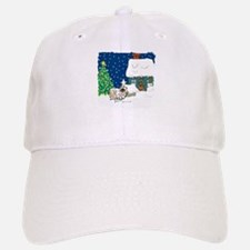 Christmas Lights Pekingese Baseball Baseball Cap