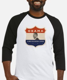 Obama / Biden JFK '60 Shield Baseball Jersey