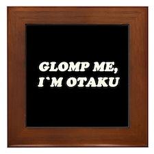 Glomp Me - I'm Otaku Framed Tile