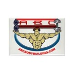 ABC Rectangle Magnet (10 pack)