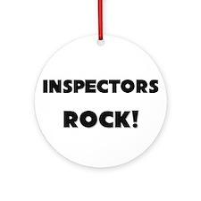 Inspectors ROCK Ornament (Round)