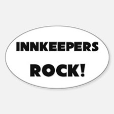 Innkeepers ROCK Oval Decal