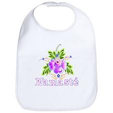 Namaste Bouquet Bib
