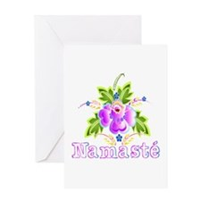 Namaste Bouquet Greeting Card
