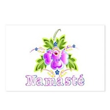 Namaste Bouquet Postcards (Package of 8)