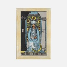 The High Priestess Rectangle Magnet