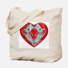 Spunk Ransom Heart (red) Tote Bag