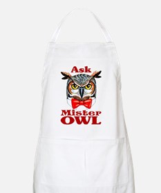 Ask Mister OWL BBQ Apron