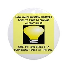 writer gifts t-shirts Ornament (Round)