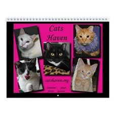 Funny Rescue shelter Wall Calendar