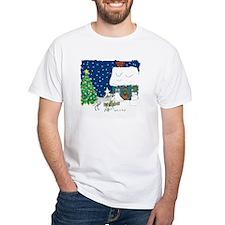 Christmas Lights Greyhound Shirt
