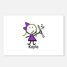 Clarinet - Kayla Postcards (Package of 8)
