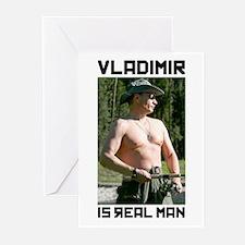 Vladimir Putin Greeting Cards (Pk of 20)