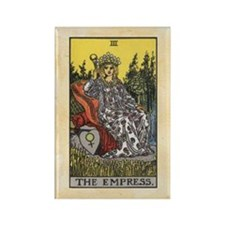 The Empress Rectangle Magnet