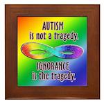 Not a Tragedy Framed Tile
