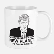 Donald Trump New Planet Small Small Mug