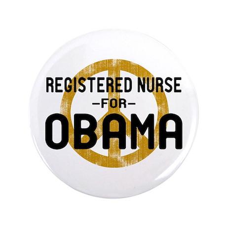 "RN for Obama 3.5"" Button"