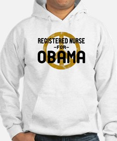 RN for Obama Hoodie