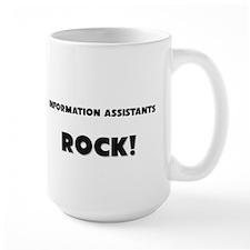 Information Assistants ROCK Large Mug