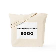 Information Assistants ROCK Tote Bag