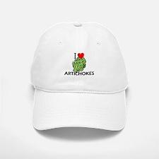 I Love Artichokes Baseball Baseball Cap