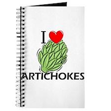 I Love Artichokes Journal
